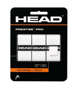 OVERGRIP HEAD PRESTIGE PRO BLANCO PACK3