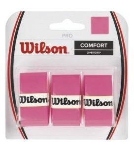 OVERGRIP WILSON CONFORT ROSA PACK3
