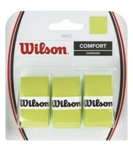 OVERGRIP WILSON CONFORT VERDE PACK3